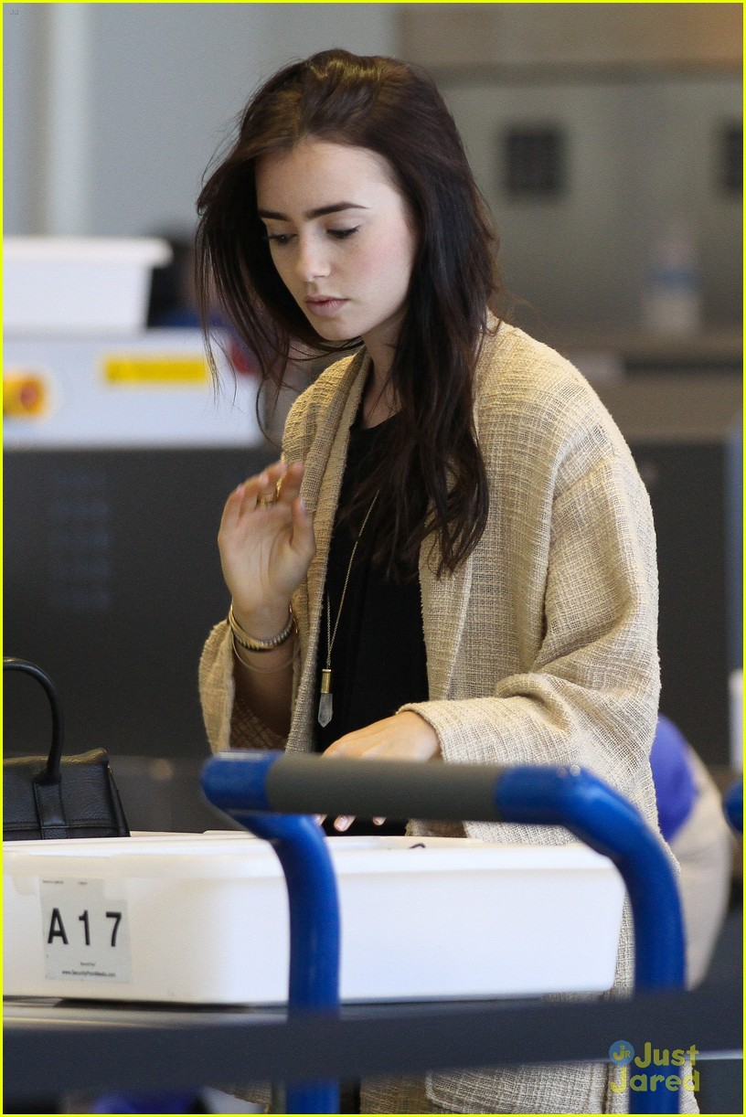 lily collins memorial day getaway 14