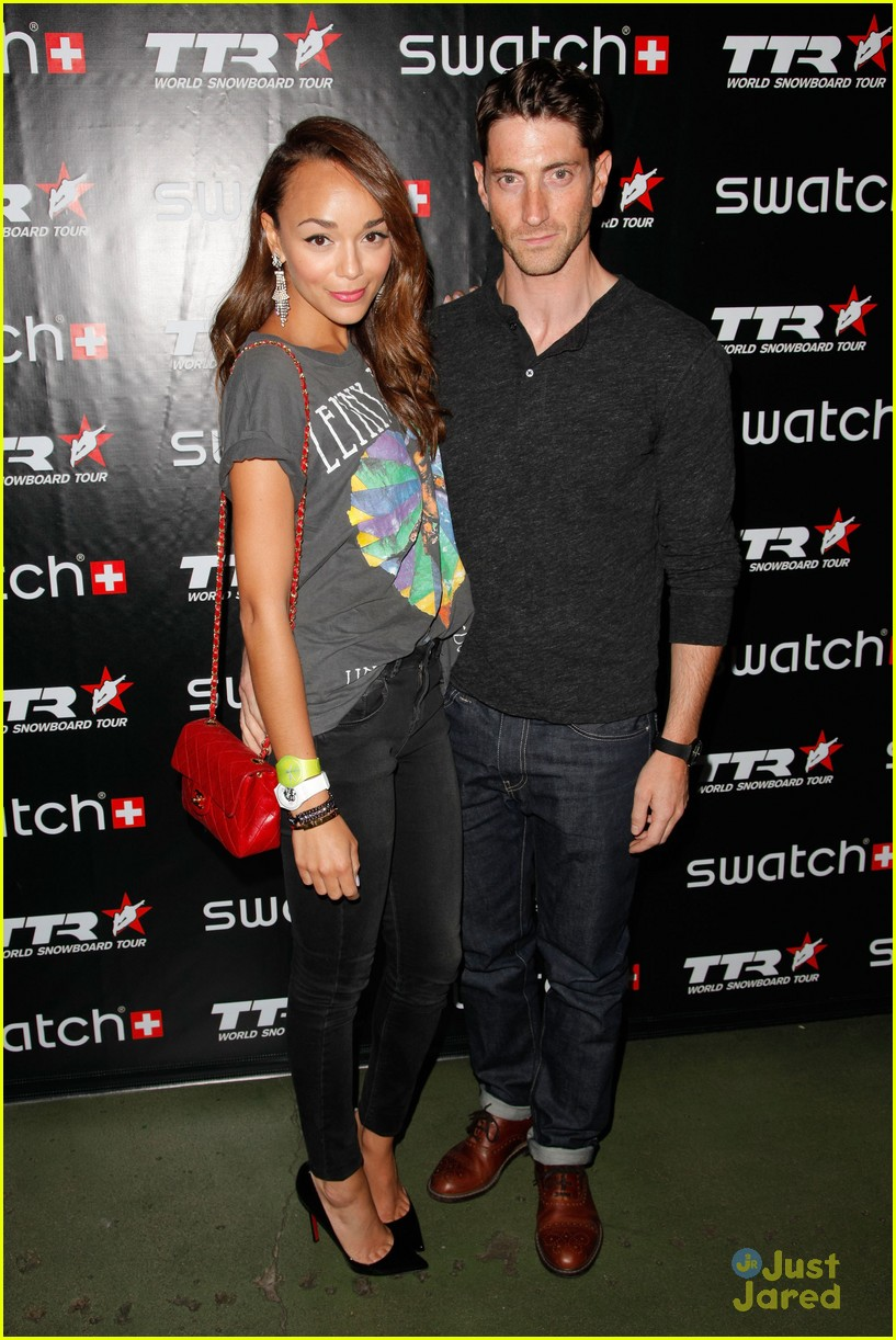 ashley madekwe swatch launch 04
