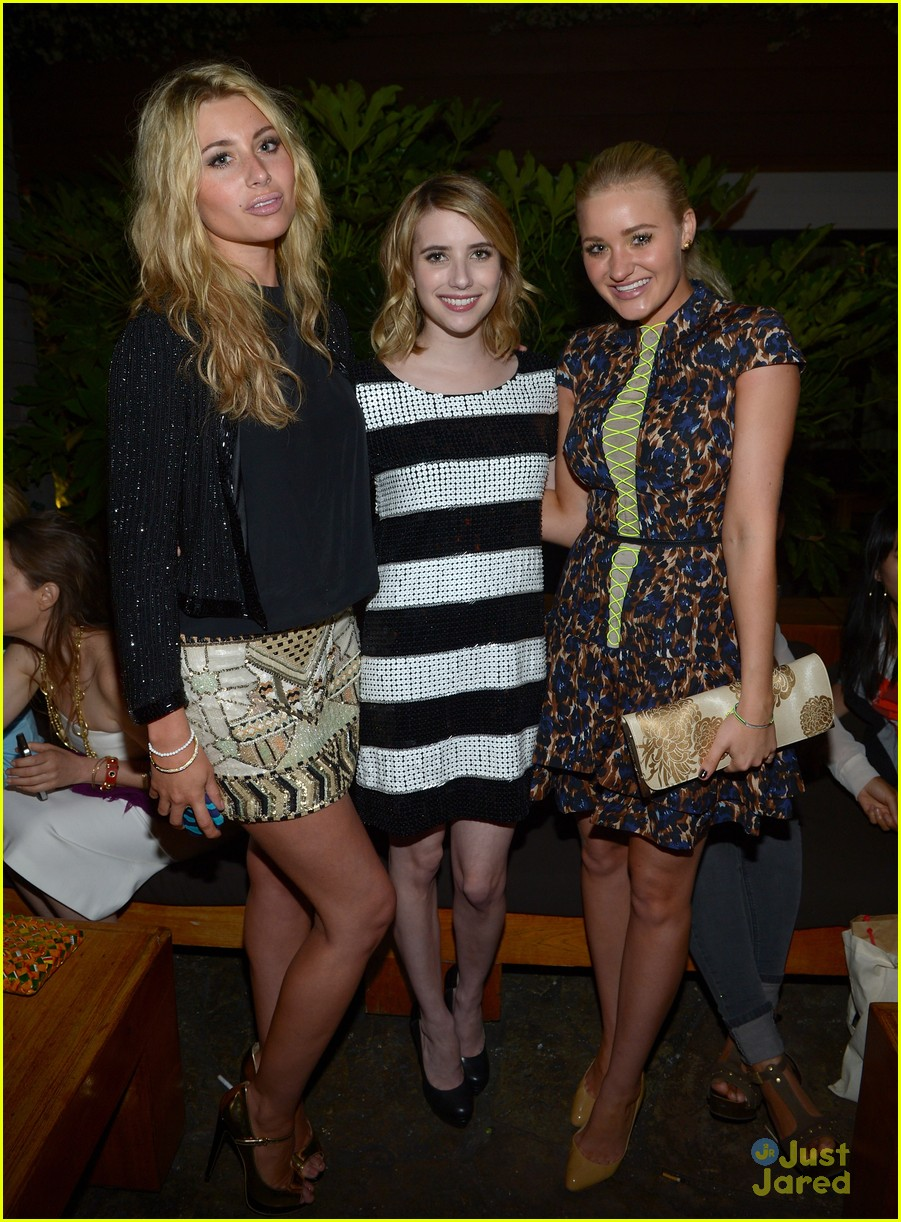 aly aj michalka nylon party 03