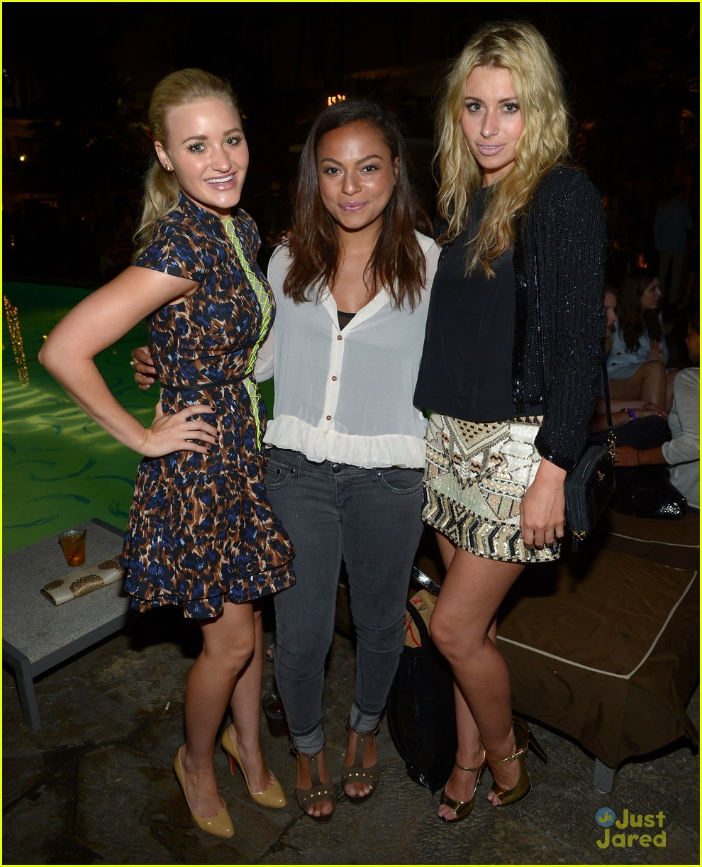 aly aj michalka nylon party 10