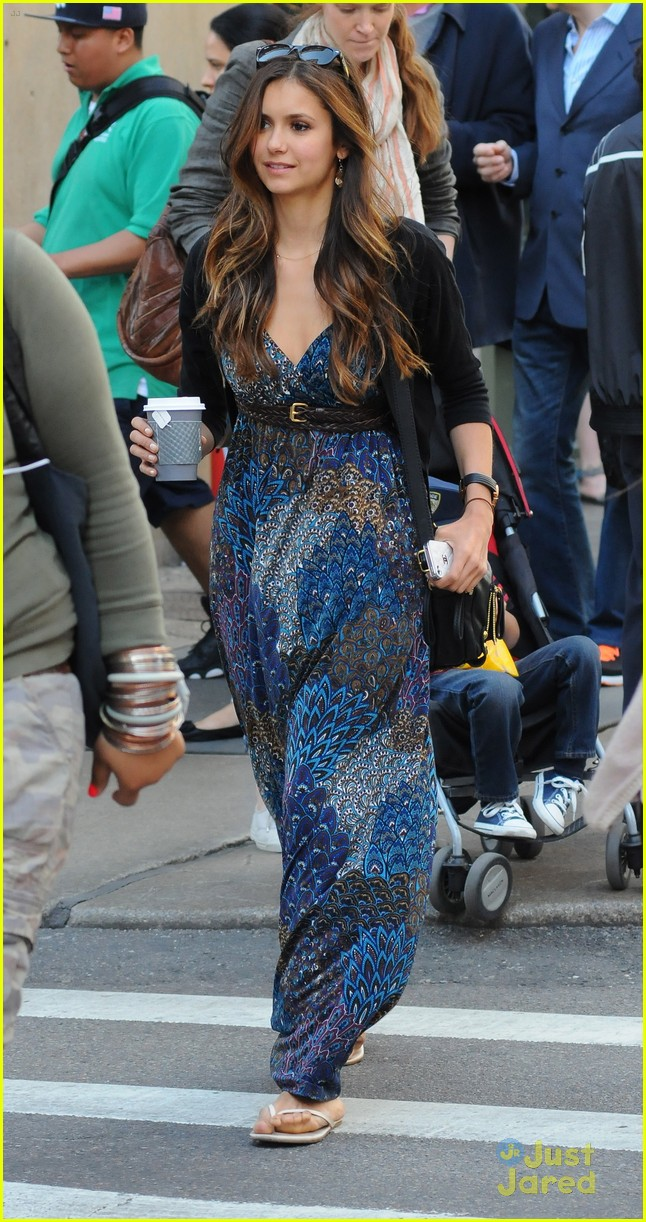 nina dobrev nyc mom 07