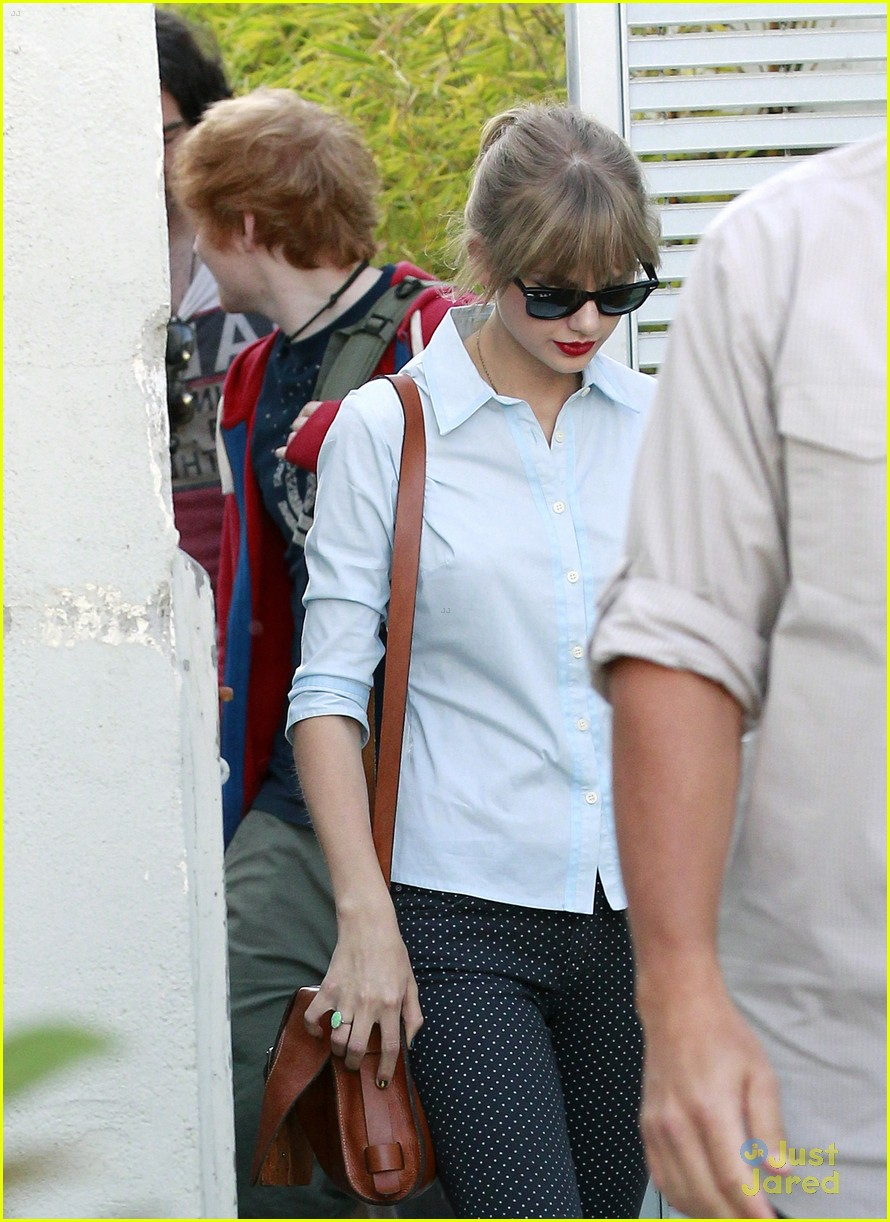 taylor swift ed sheeran studio 04