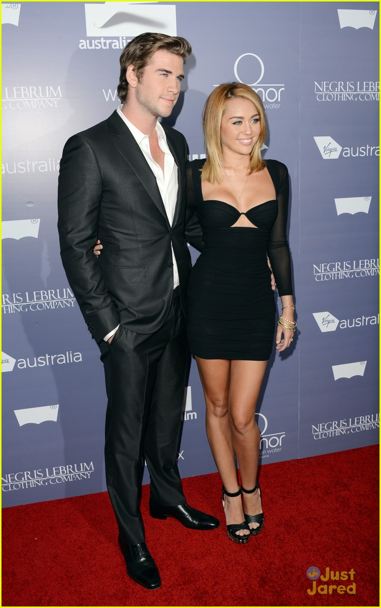 miley cyrus liam hemsworth australians in film awards 14