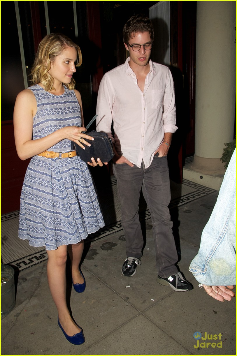 dianna agron henry joost date 02