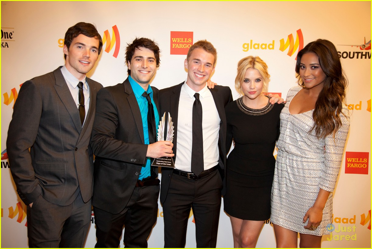 dianna ashley shay ian glaad awards 09