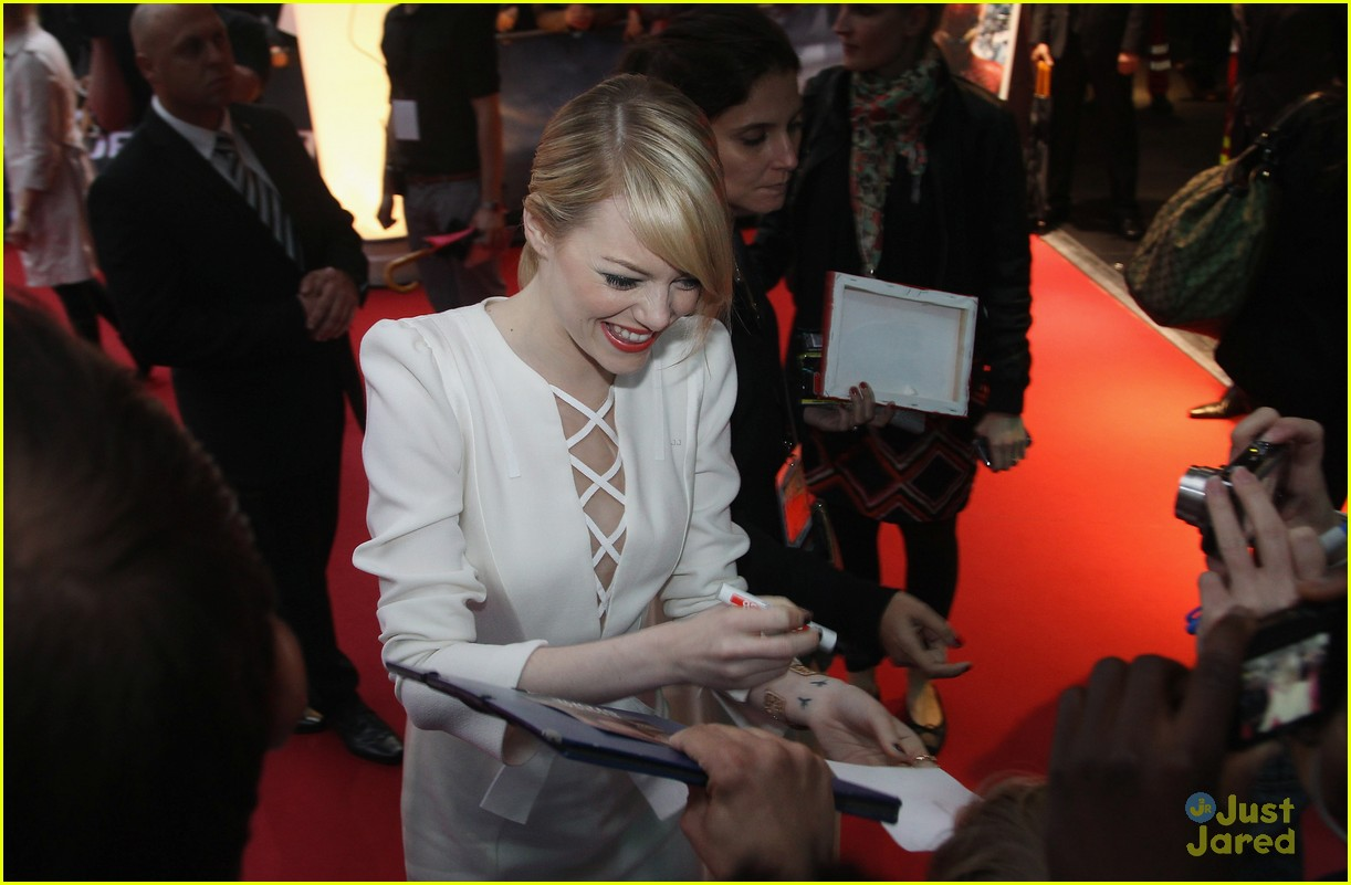 emma stone andrew garfield berlin 30