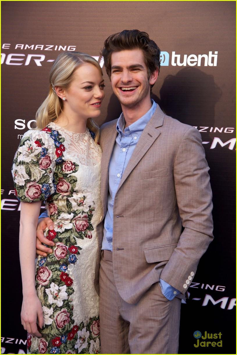 emma stone andrew garfield madrid 01