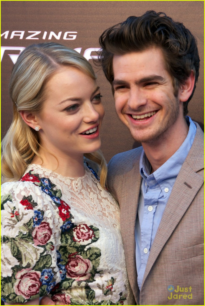 emma stone andrew garfield madrid 24