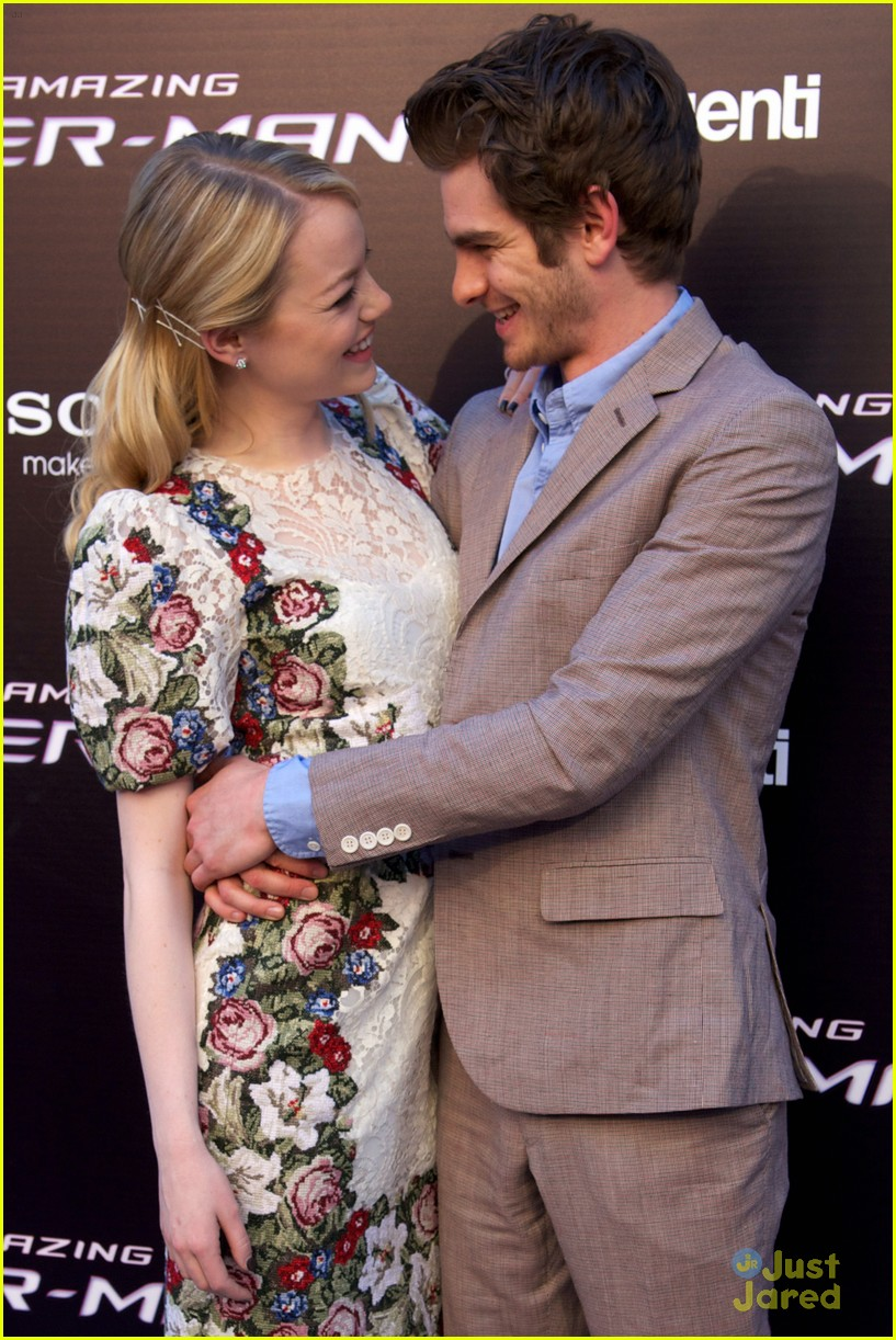 emma stone andrew garfield madrid 28