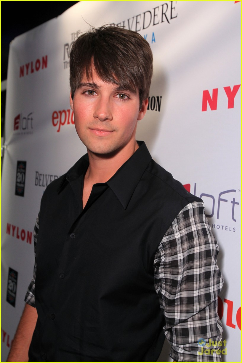 tyler blackburn james maslow nylon party 03