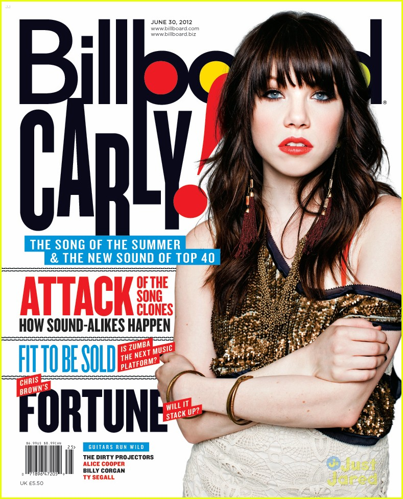 carly rae jepsen billboard cover 01