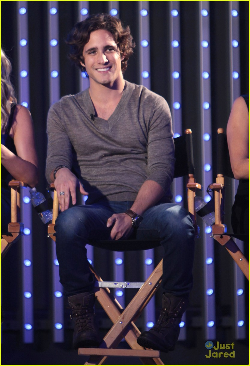 julianne hough diego boneta rock qa guys choice 09