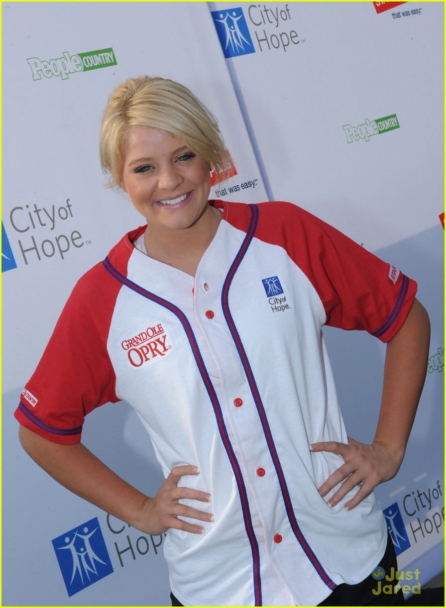 lauren alaina softball city hope 10