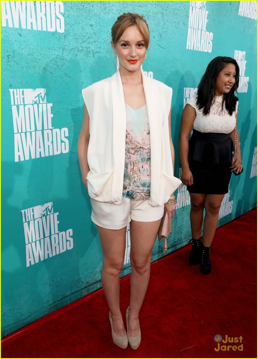 leighton meester mtv movie awards 08