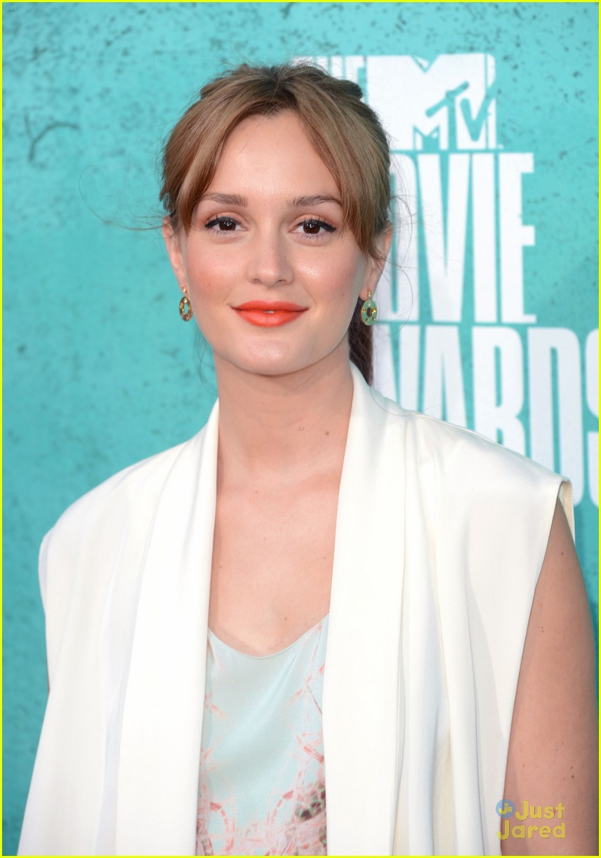 leighton meester mtv movie awards 09