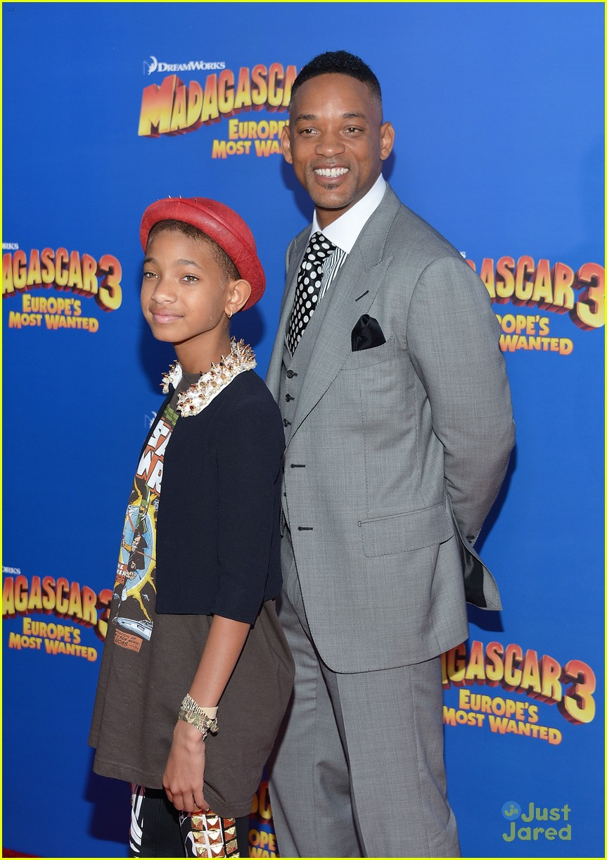 willow smith madagascar 3 premiere 06