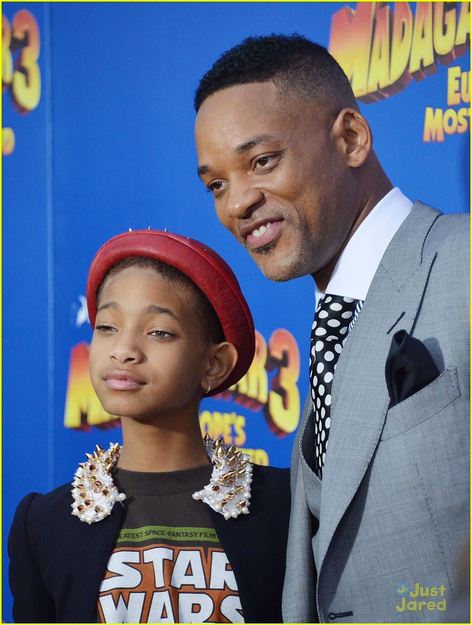willow smith madagascar 3 premiere 08