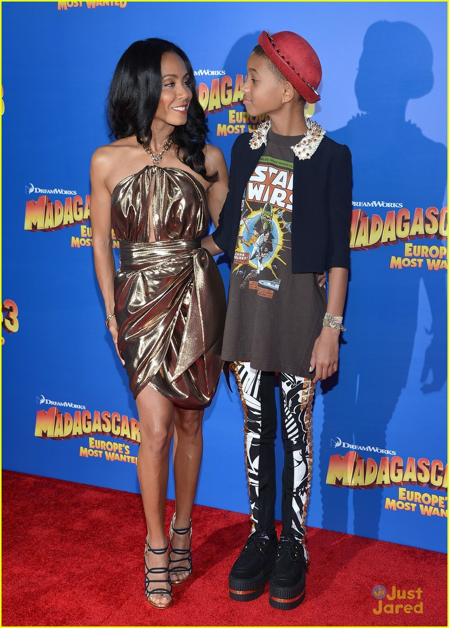 willow smith madagascar 3 premiere 10