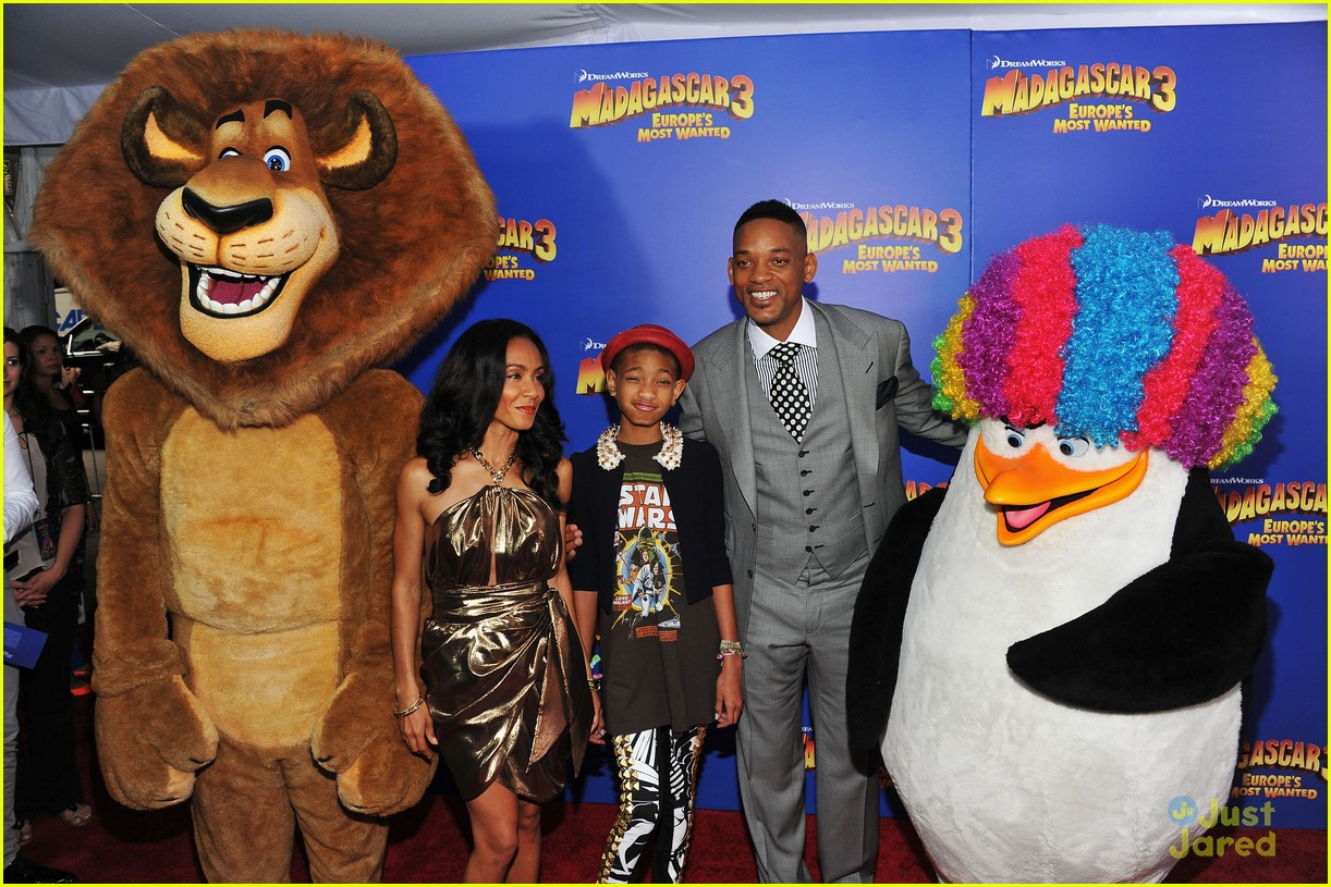 willow smith madagascar 3 premiere 12