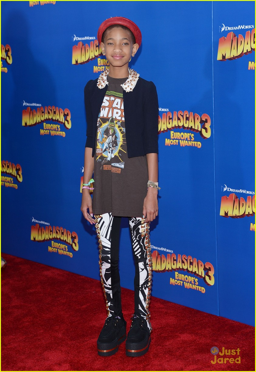 willow smith madagascar 3 premiere 15