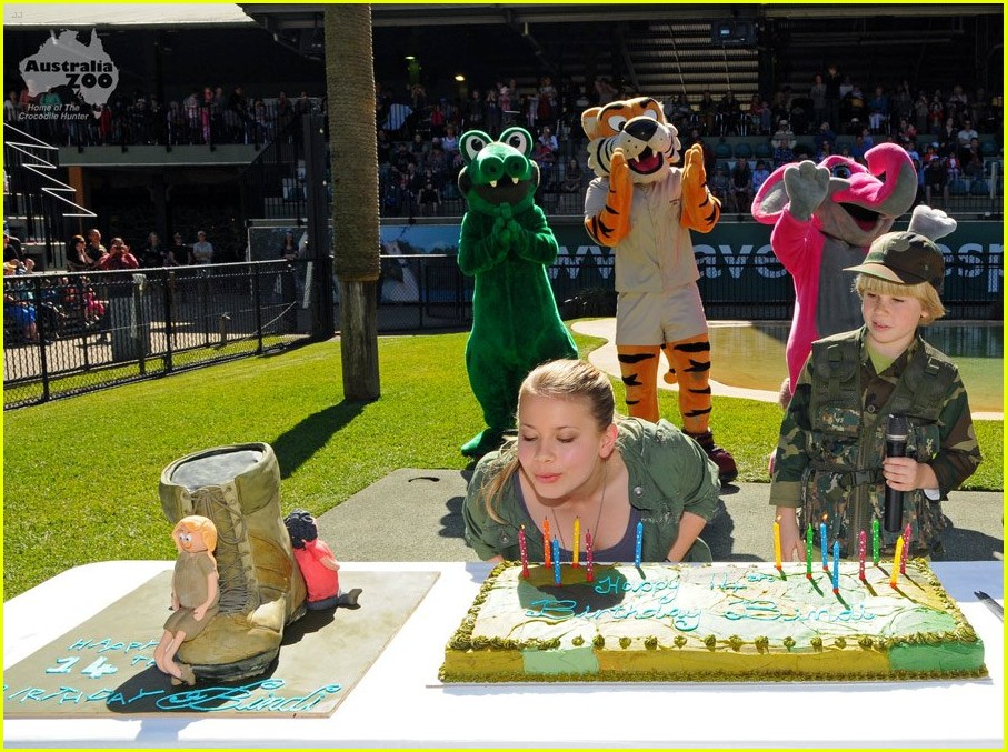 bindi irwin boot camp bday 05