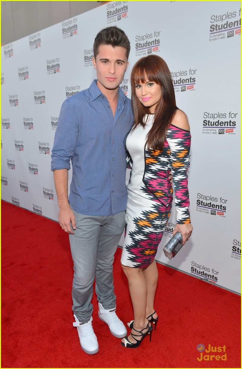 debby ryan spencer boldman staples party 06