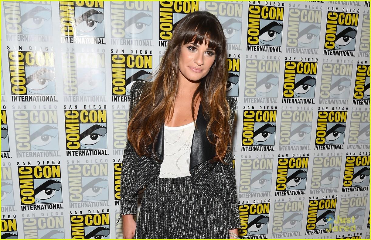 lea michele jenna ushkowitz glee sdcc 04