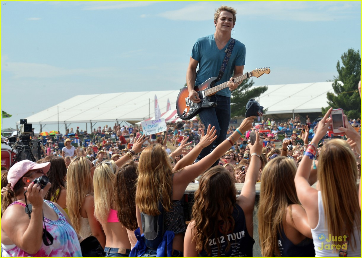 hunter hayes country thunder 08