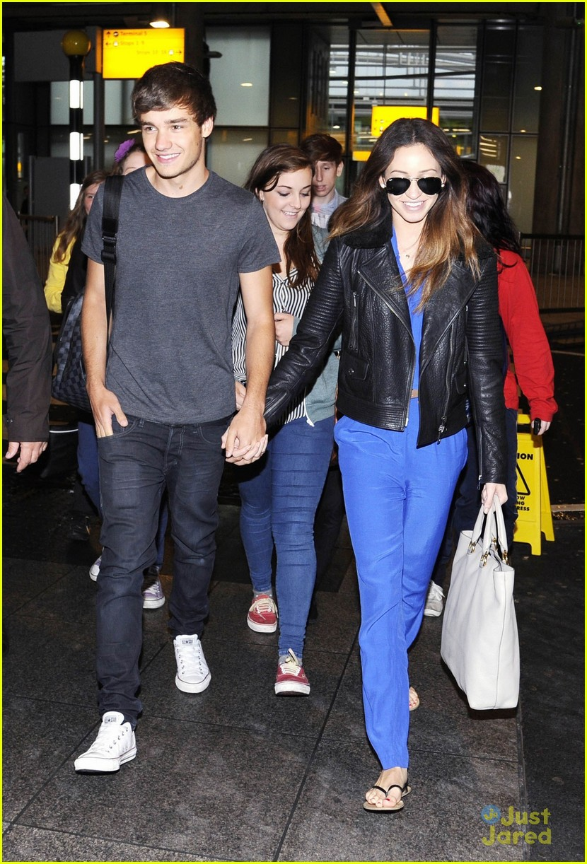 liam payne danielle heathrow 07