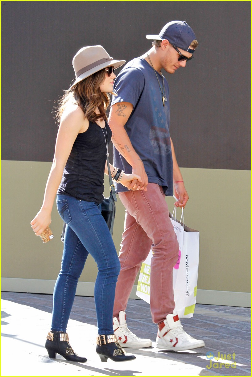 lucy hale chris zylka grove 03
