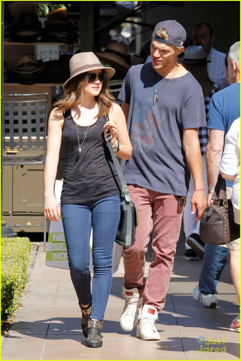 lucy hale chris zylka grove 04