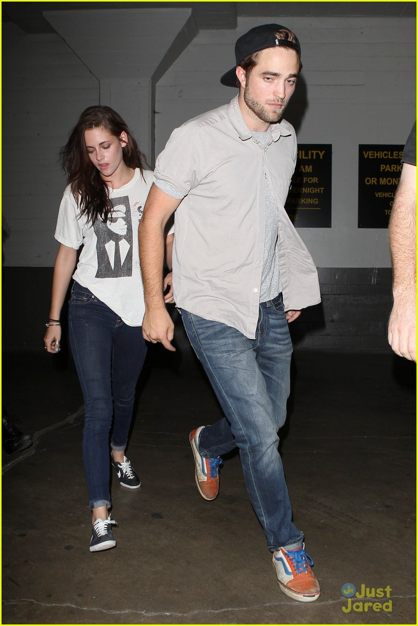 robert pattinson kristen stewart date night 05