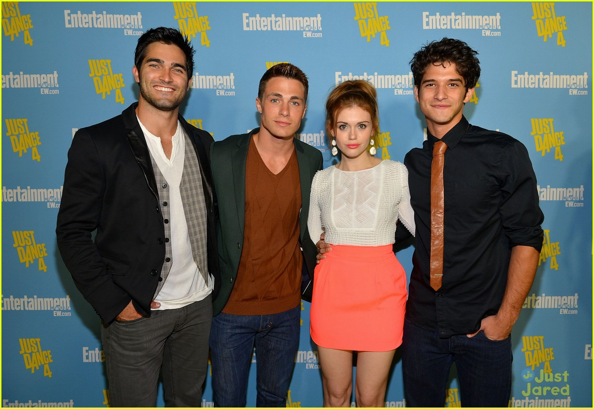 holland roden teen wolf ew party 02