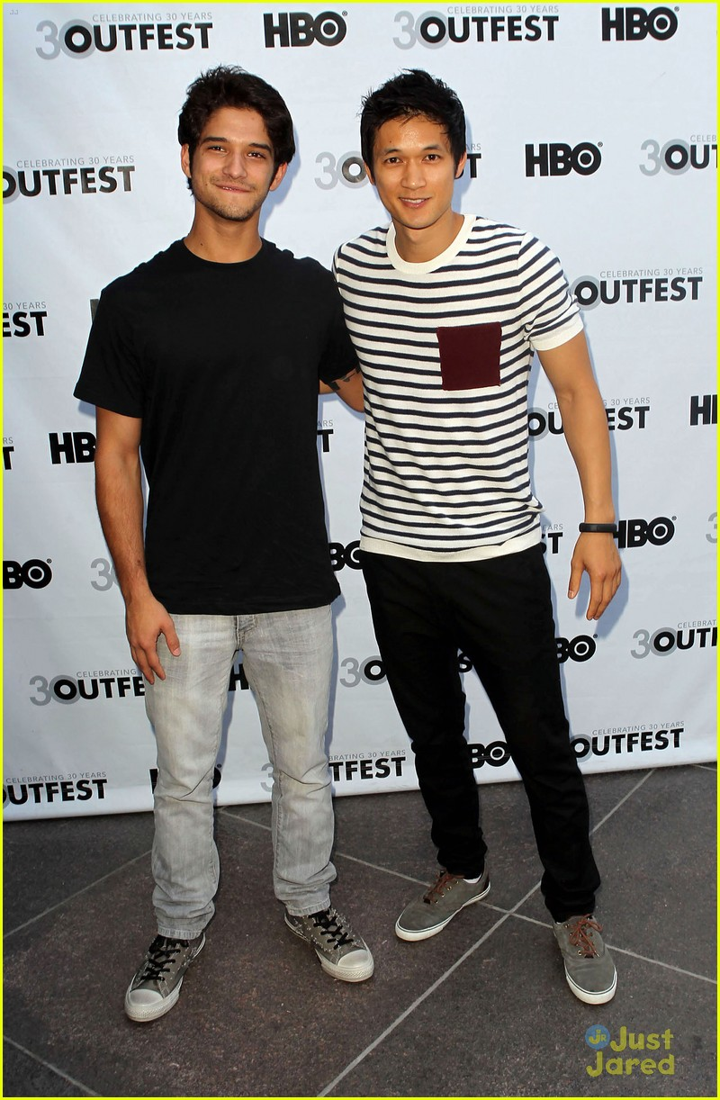tyler posey harry shum white frog 02