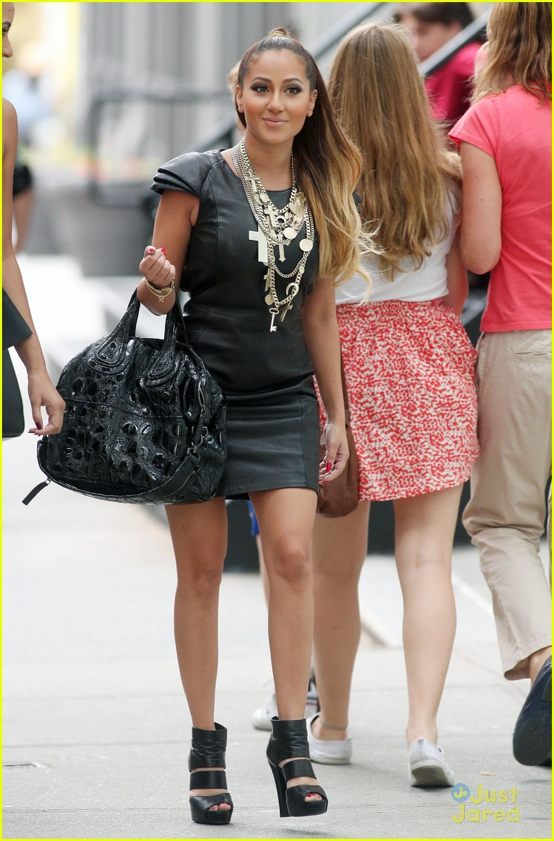 adrienne bailon ciprani lunch 04