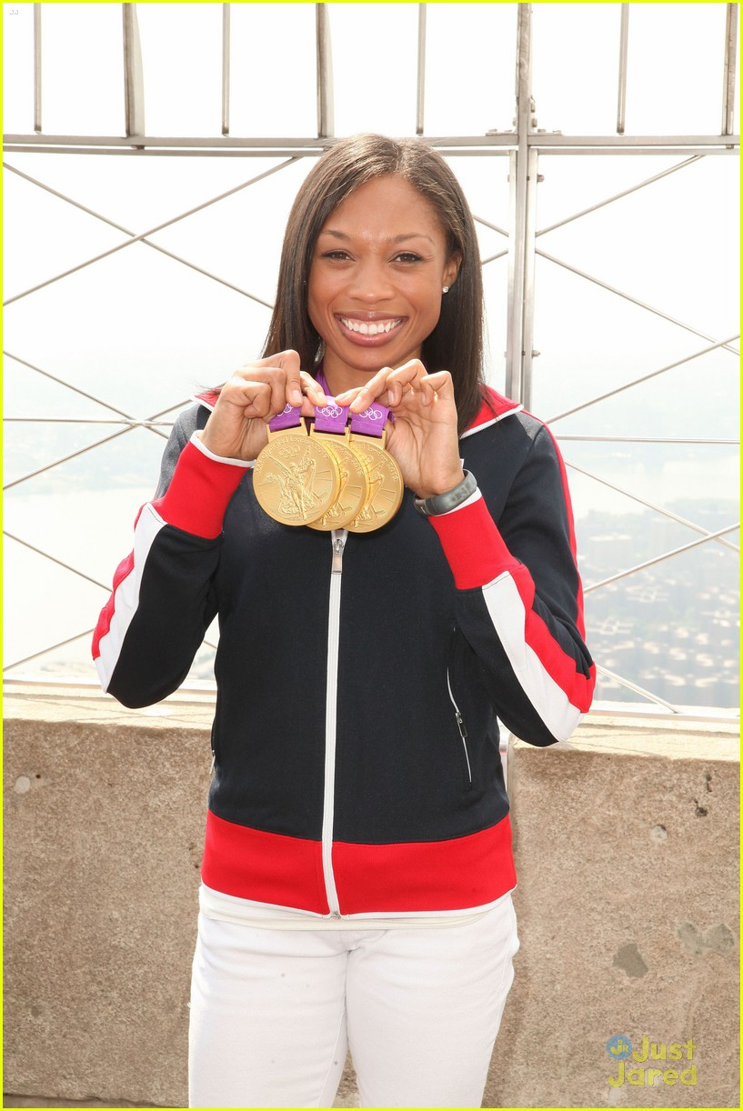allyson felix empire state 06