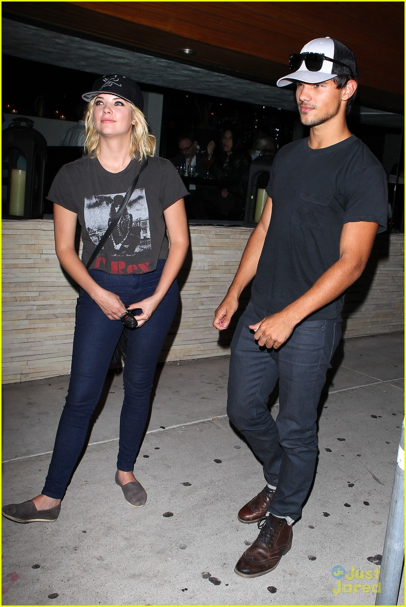 ashley benson taylor lautner red o 11