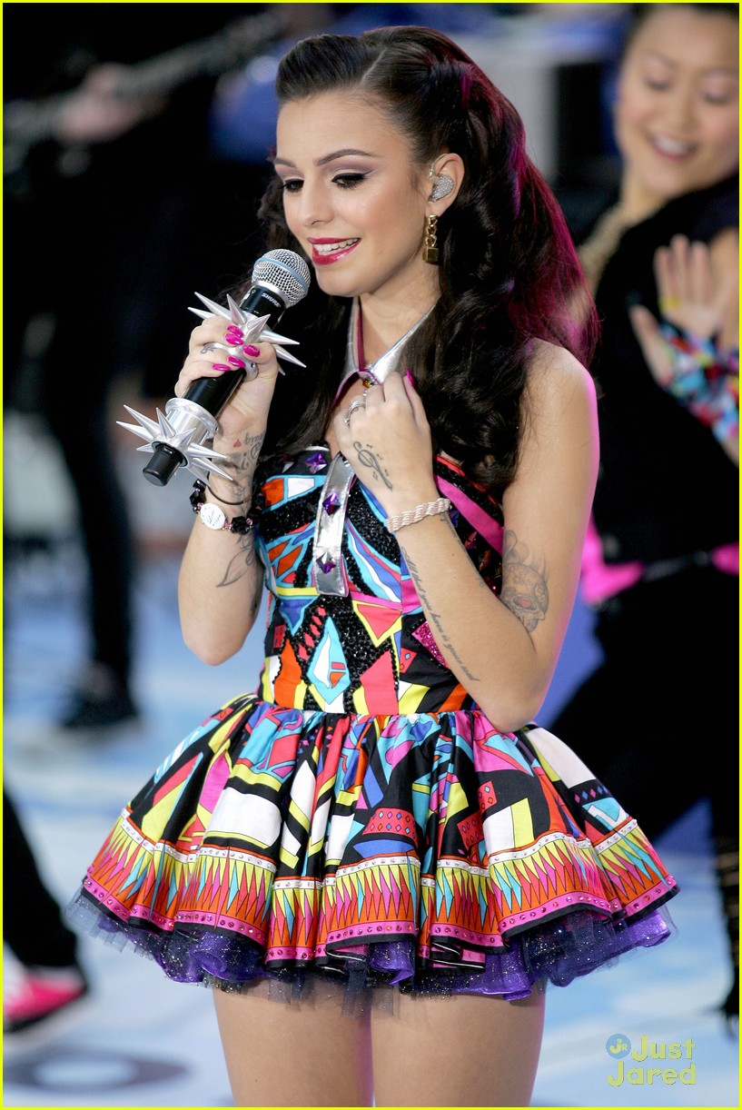 cher lloyd today show 30