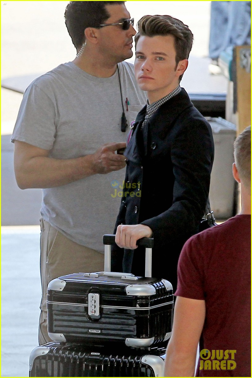 colfer glee airport 02