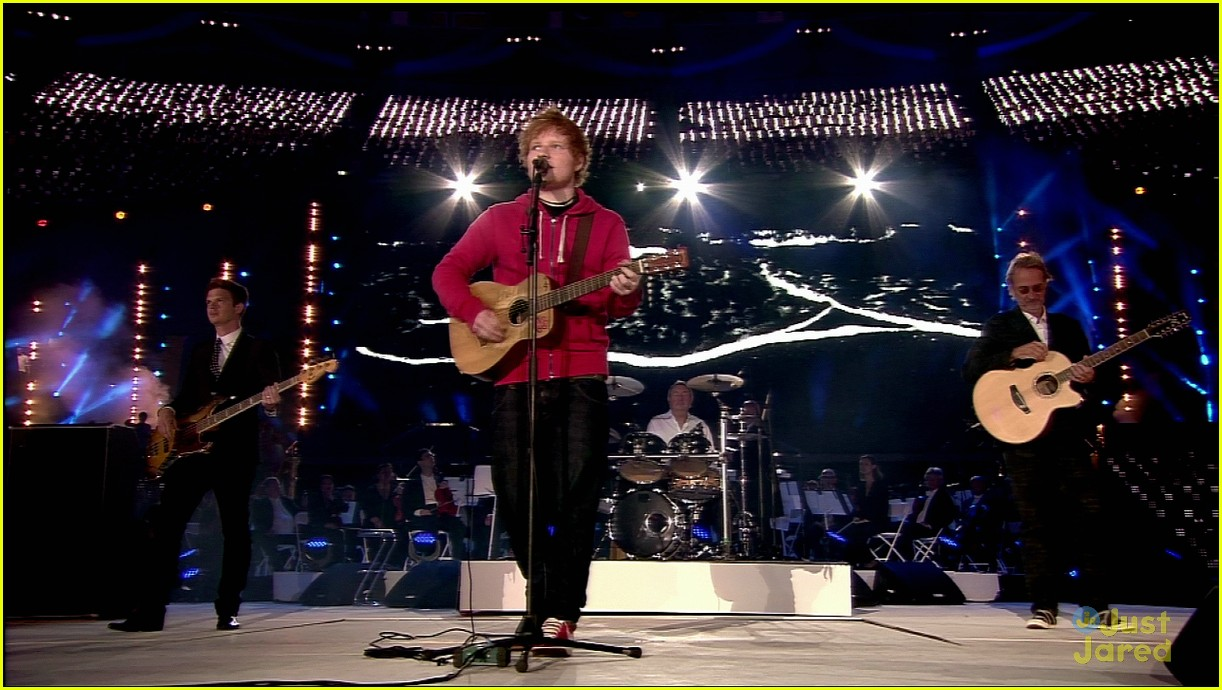 ed sheeran olympics closing 04
