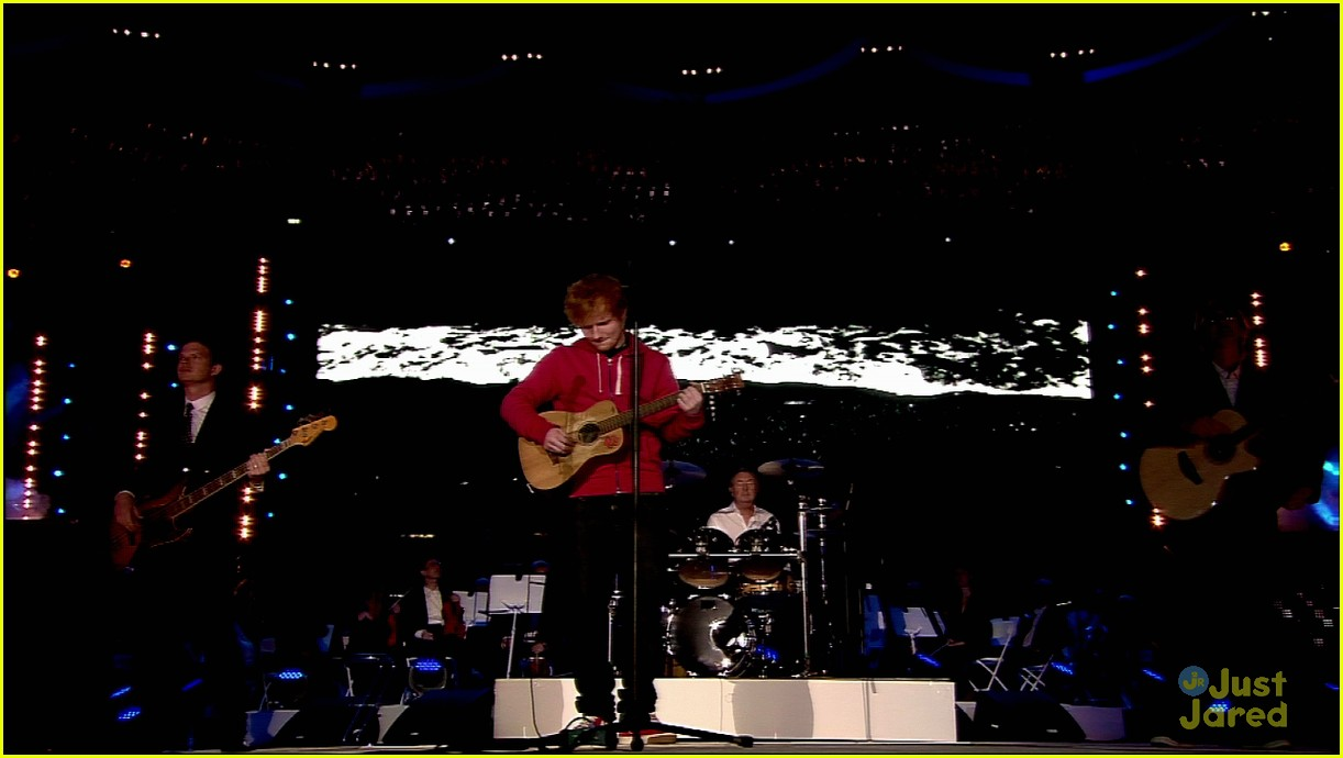 ed sheeran olympics closing 06