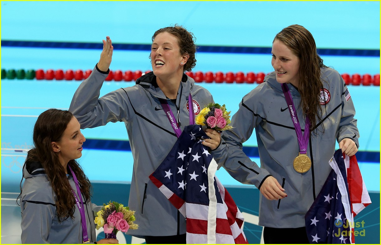 missy franklin olympics relay record 18