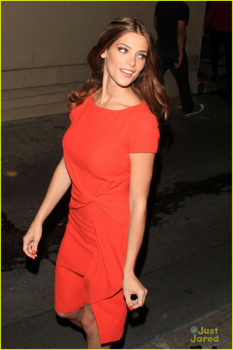 ashley greene kimmel arrival 07