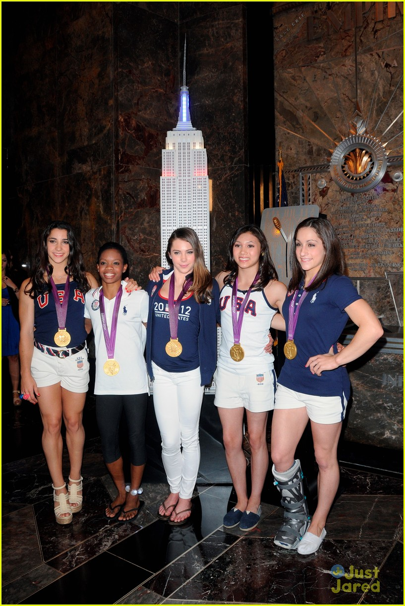 us gymnasts empire state 13