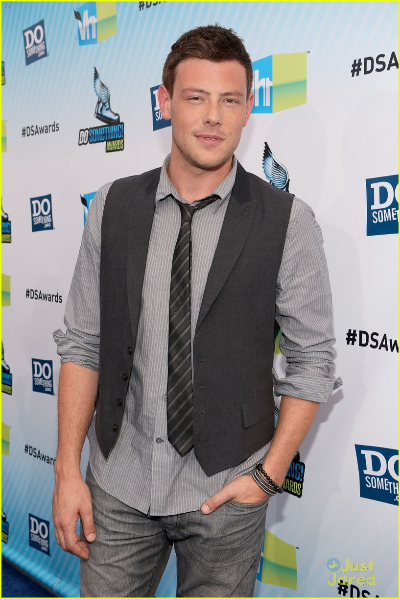 lea michele cory monteith ds awards 22