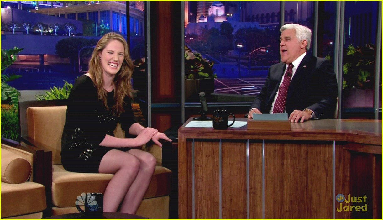 missy franklin jay leno 10