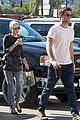 Cyrus-starbucks miley cyrus liam hemsworth starbucks stop 08
