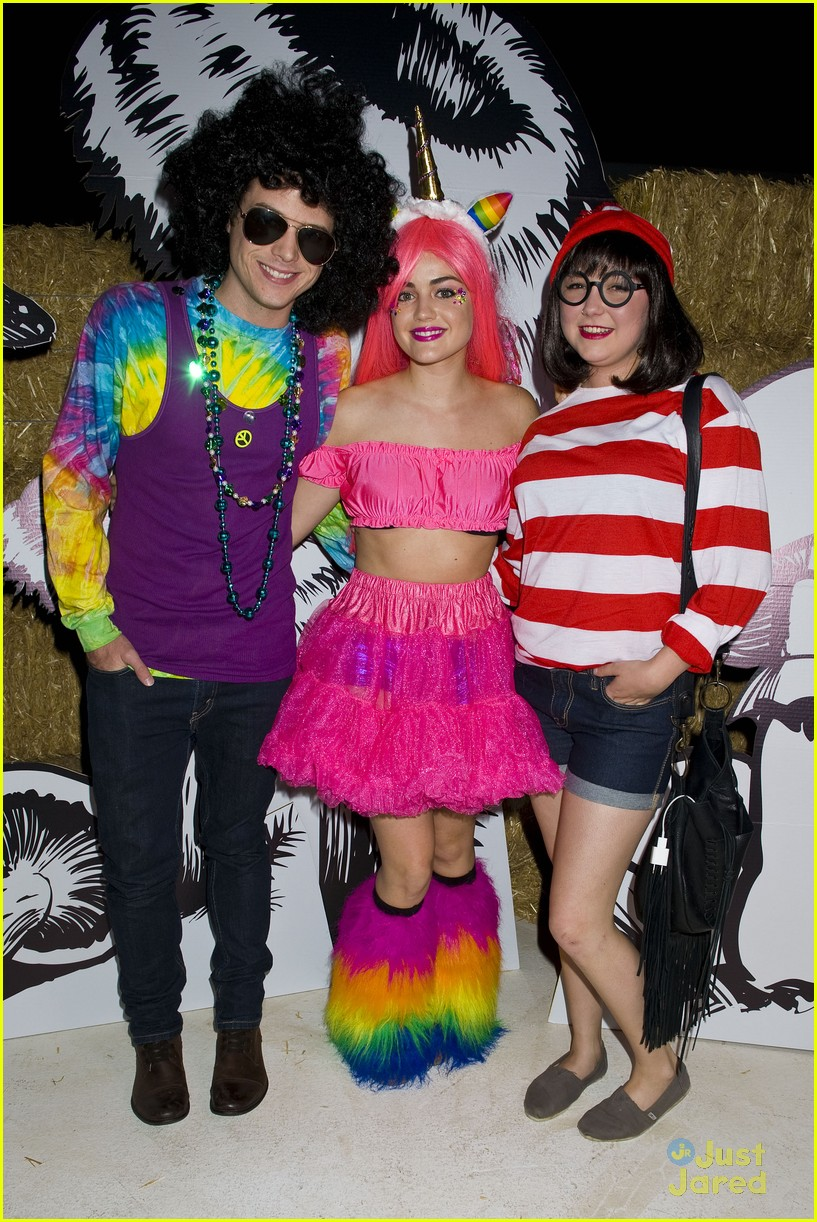 lucy hale jj halloween party 03