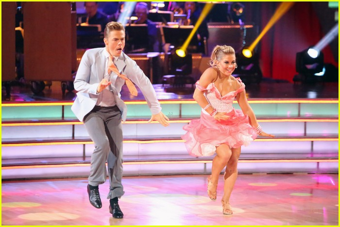 shawn johnson derek hough jive 06