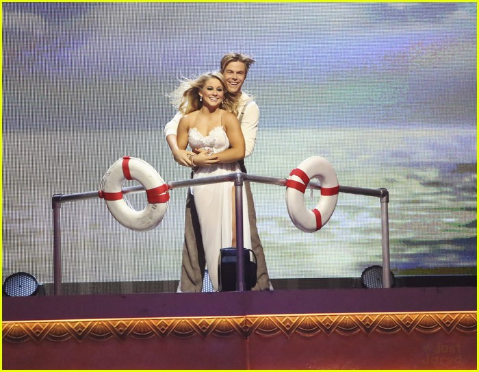 shawn johnson derek hough rumba dwts 08